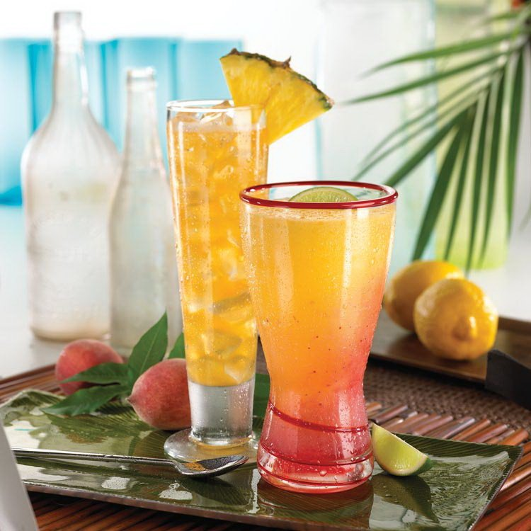 Pineapple And Mango Rum Cocktails Recipes — Dishmaps
