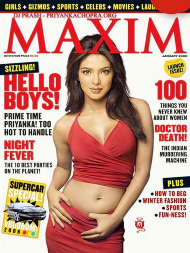 15 Priyanka Chopra Magazine Covers That Are Proof Of Her