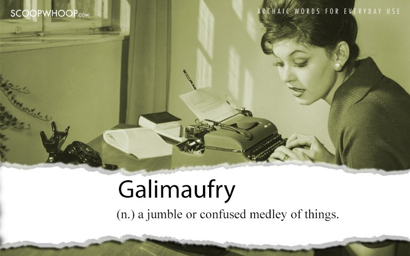 gallimaufry  Definition of gallimaufry in English by