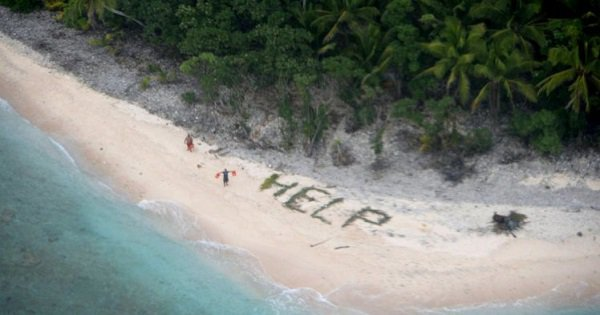 3 Guys Stranded On An Island Got Rescued Thanks To A Trick From The Movie 'Cast Away'