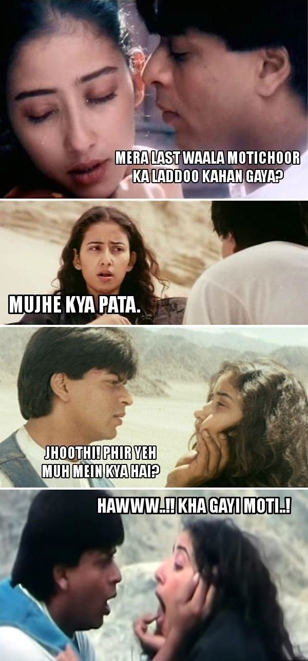 12 Iconic Bollywood Movie Scenes Converted Into Hilarious