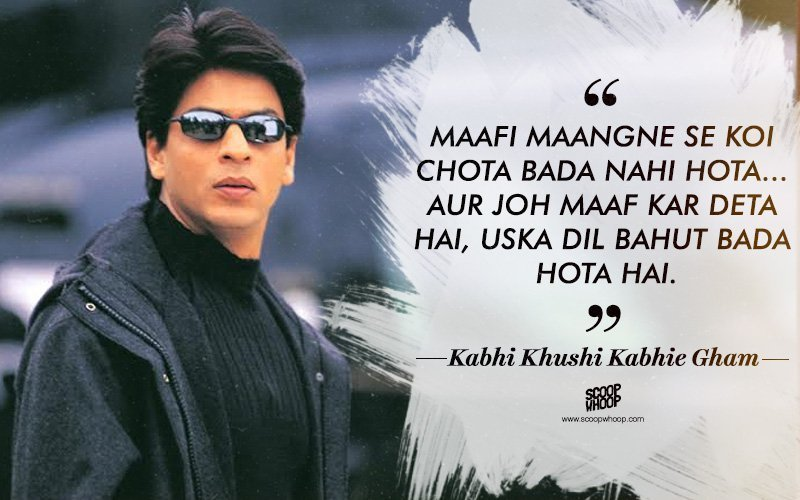 50 Lesser-Known Dialogues By Shah Rukh Khan You Probably
