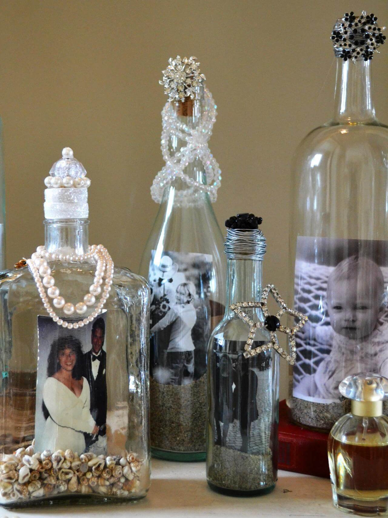 10 Weekend DIY Projects to Convert Empty Wine Bottles into Gorgeous Pieces of Art