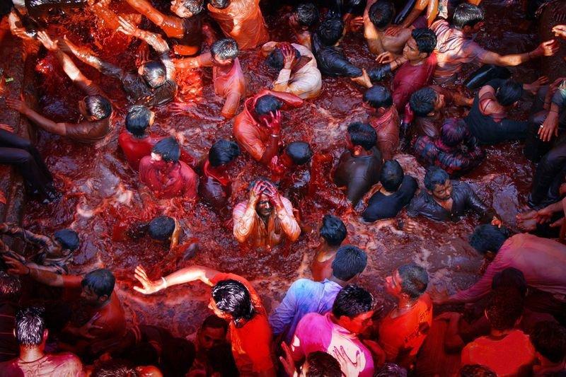 Холи в Индии, Насик