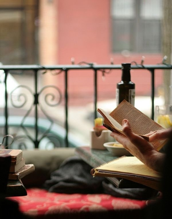 14 places in india every book lover should visit for The balcony book