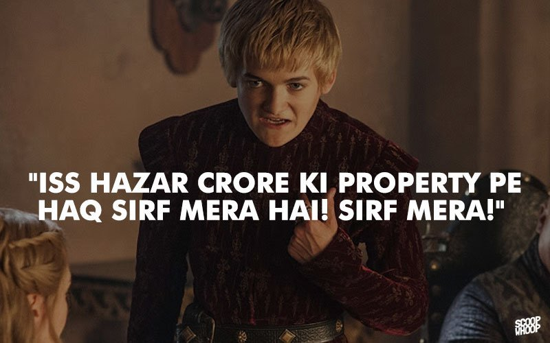 26 Dialogues You Can Expect In The Indian Version Of Game Of Thrones