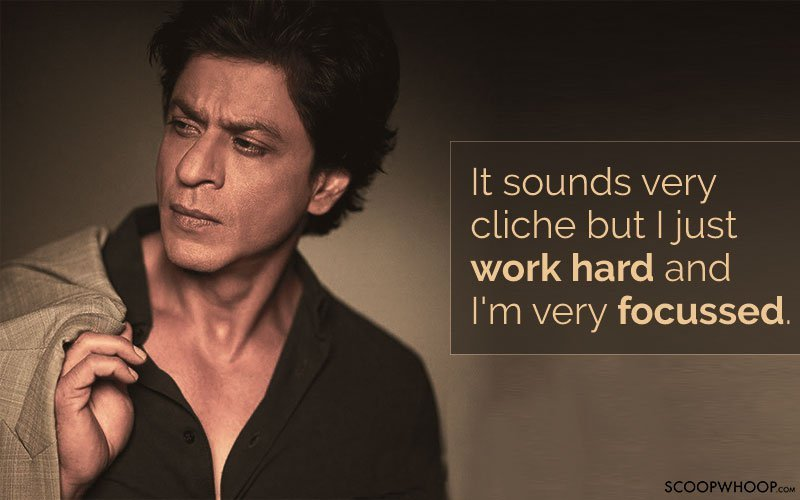 15 Quotes By Srk That Teach Us How To Balance Fame And Failure