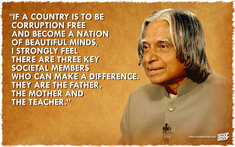 Remembering Dr Apj Abdul Kalam His Inspiring Words On His Death