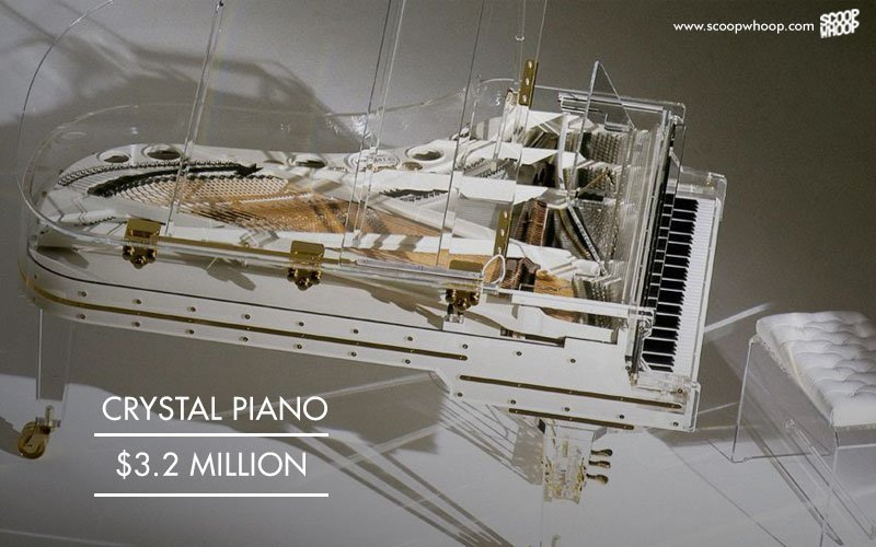 A Piano Made Out Entirely Of Crystal One The Most Expensive Instruments In World
