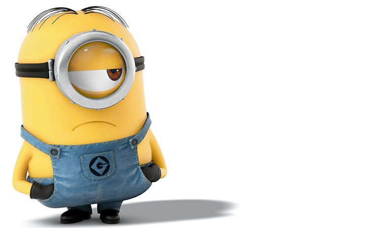 One Eyed Minions Are Usually Short