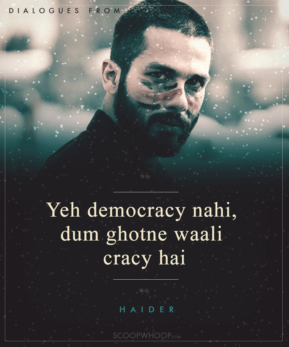 10 Intense Dialogues From Haider To Remind You Why The Film