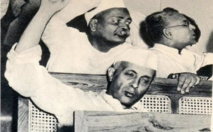 Image result for nehru voting for pakistan