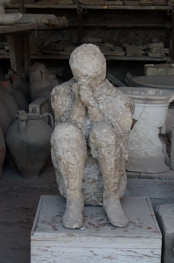 When Pompeii Was Destroyed By Volcano, This Is What Became ...