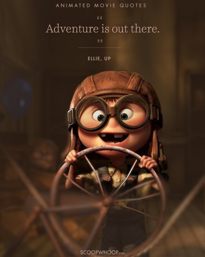 Movies Lines Quotes: 15 Animated Movies Quotes That Are Important Life Lessons