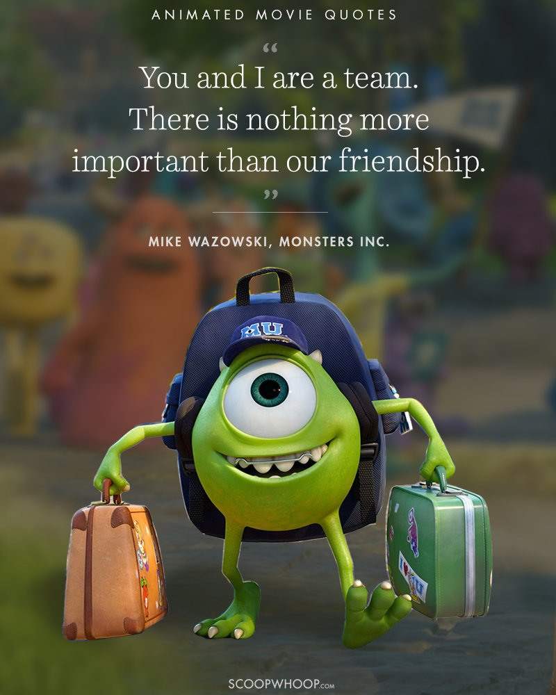 Movie Sayings And Quotes: 15 Animated Movies Quotes That Are Important Life Lessons