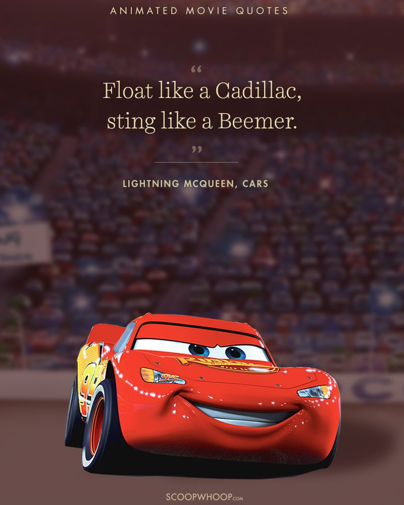 Cars The Movie: 15 Animated Movies Quotes That Are Important Life Lessons