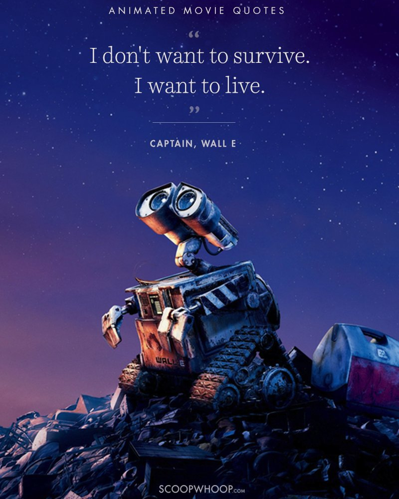 Movie Quotes About Life: 15 Animated Movies Quotes That Are Important Life Lessons