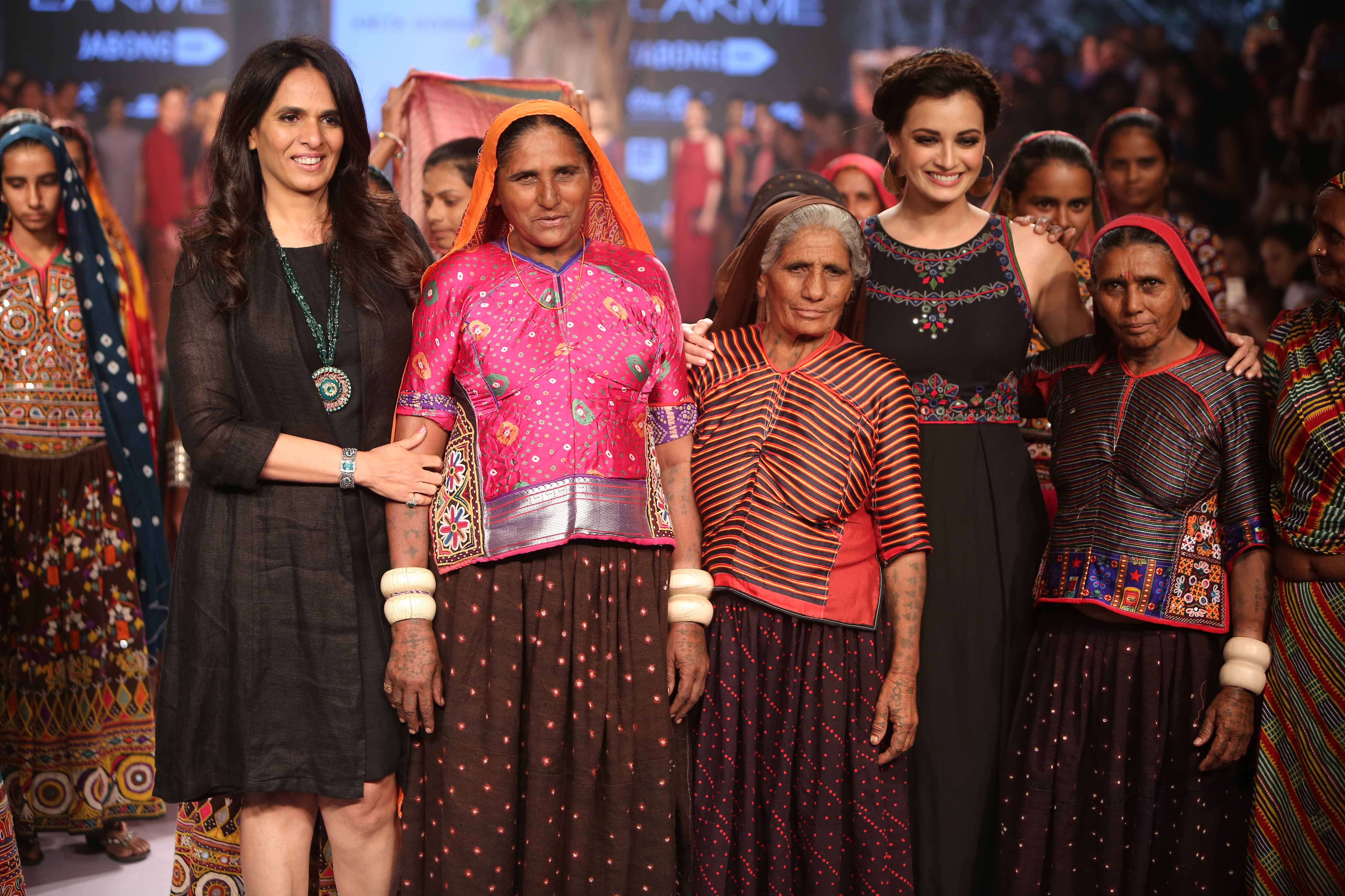 Anita Dongre Touches Hearts with Her Grassroots Collection