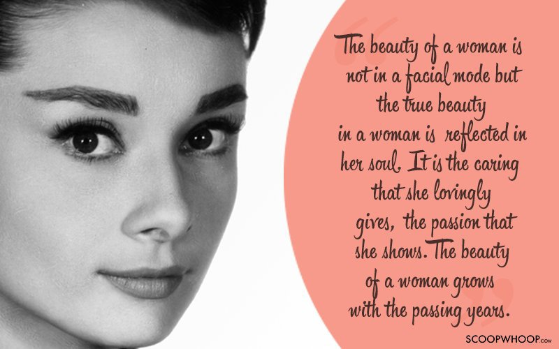 From Beauty To Self Improvement Here Are Some Of Our Favourite Quotes By Audrey Hepburn