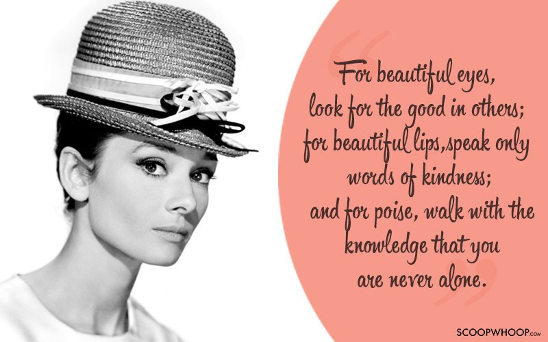 25 Liberating Quotes By Audrey Hepburn On Beauty Self Worth
