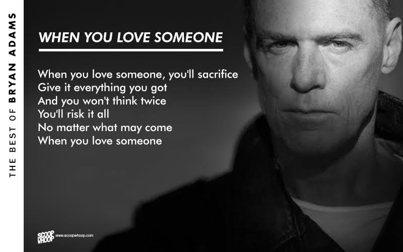 Bryan Adams Song Lyrics | MetroLyrics