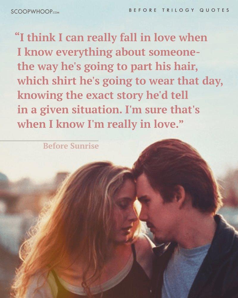 Romantic love sunset quotes