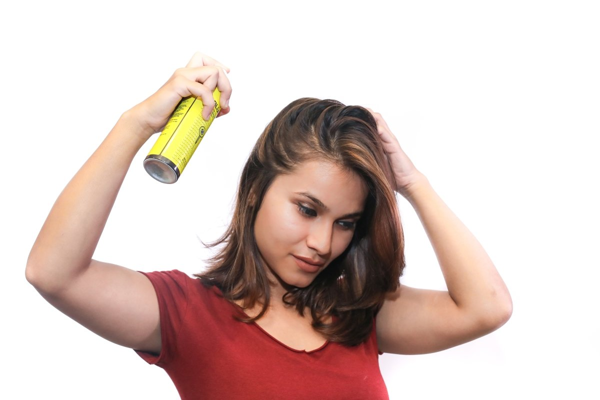 Image result for Your hair suffers the most after a workout session. Using a dry shampoo on strands of hair will kill the seat and smell in an instant.
