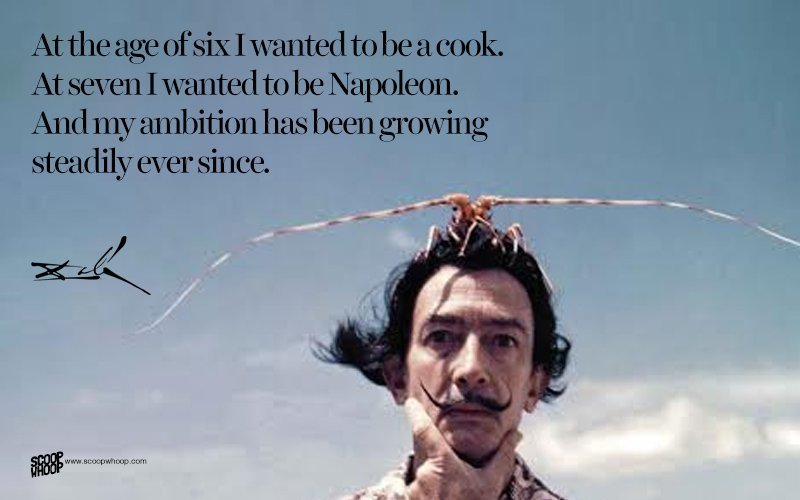 Salvador Dali Quotes 20 Salvador Dali Quotes That Give Us A Glimpse Into The Eccentric .