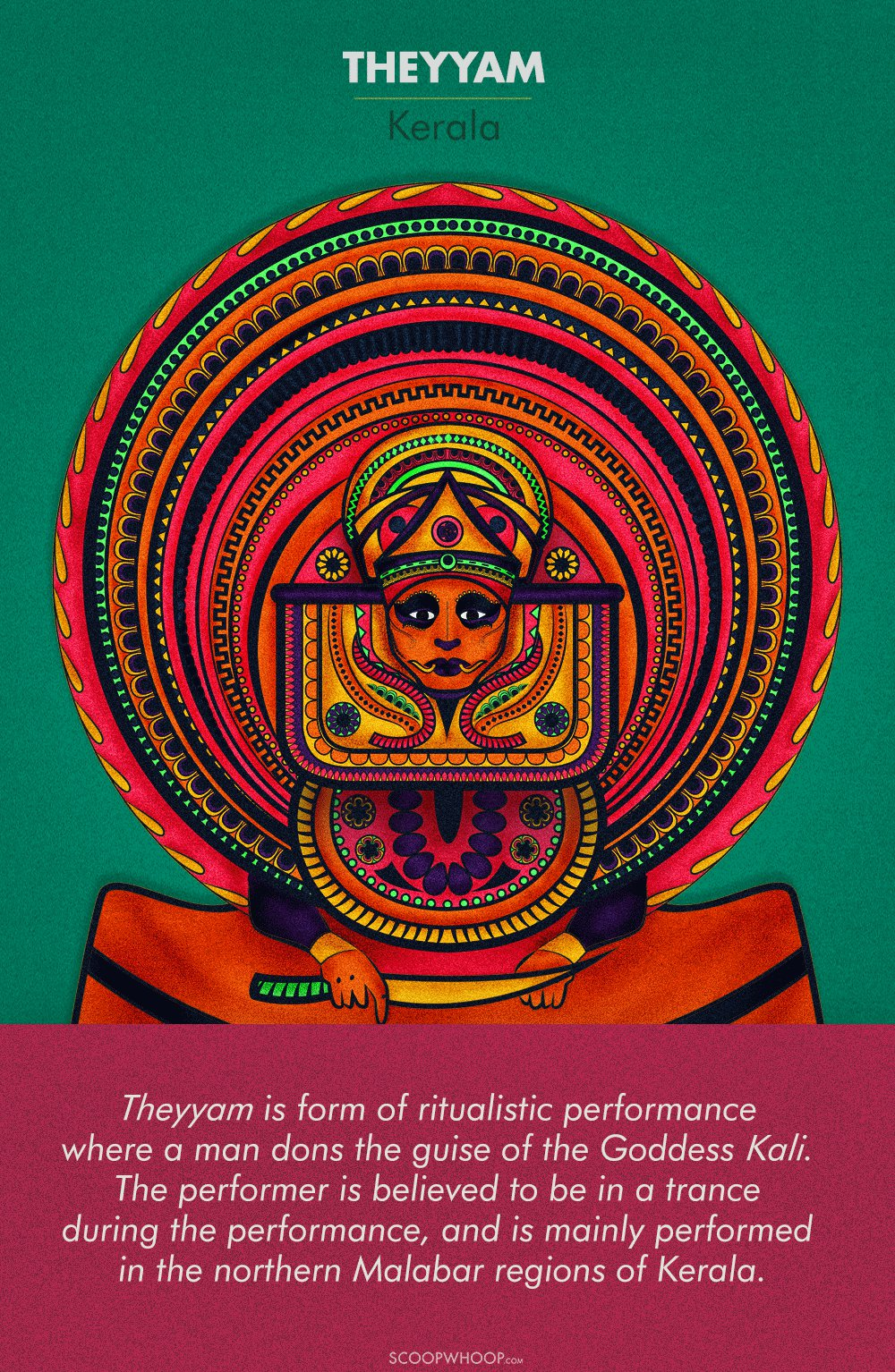 These Illustrations Celebrate South India's Most Vibrant & Elaborate