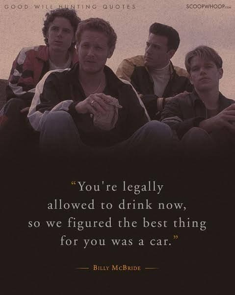 20 Moving Quotes From Good Will Hunting About Life, Love