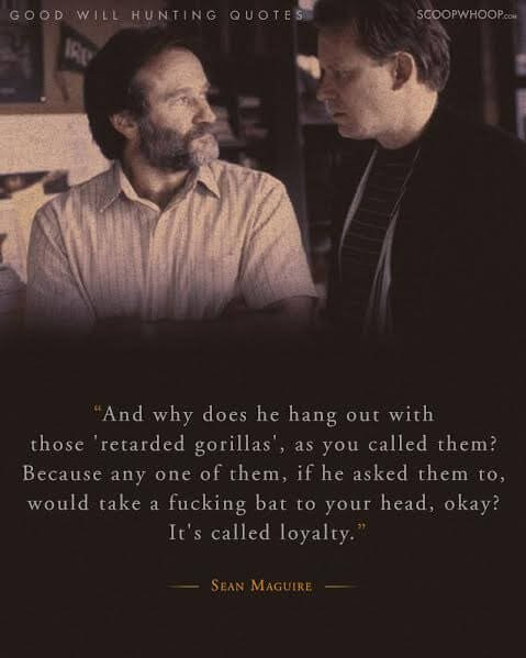 Good Will Hunting Quotes 20 Moving Quotes From Good Will Hunting About Life, Love, And How  Good Will Hunting Quotes