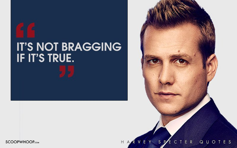 The Best Suits Harvey Quotes