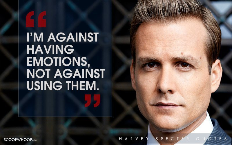 30 Witty One,Liners By Harvey Specter That Are The Secret To