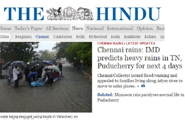 For First Time In 137 Years, The Hindu Wasn't Published In