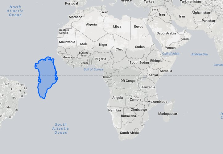 This international website compares true sizes of countries itll to start off lets go to greenland and see how big it would look like when placed next to africa gumiabroncs Image collections