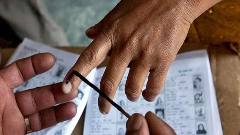 Image result for voting booth india