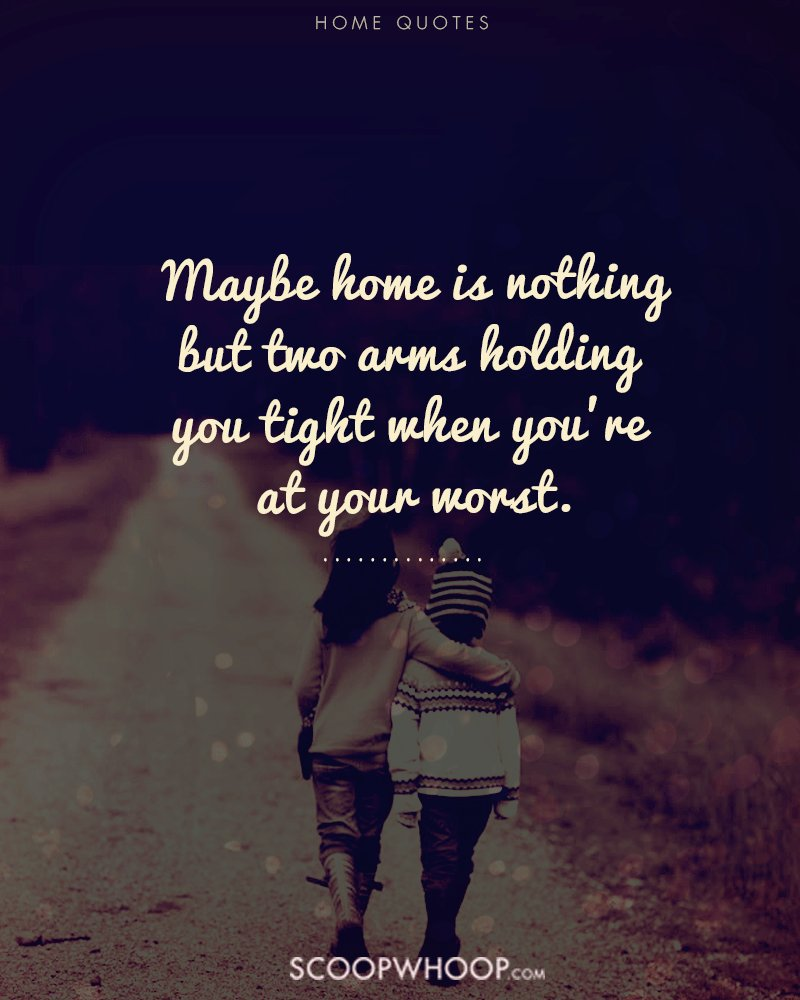 Home Isnt Just A Place Its The People Your Heart Lies With