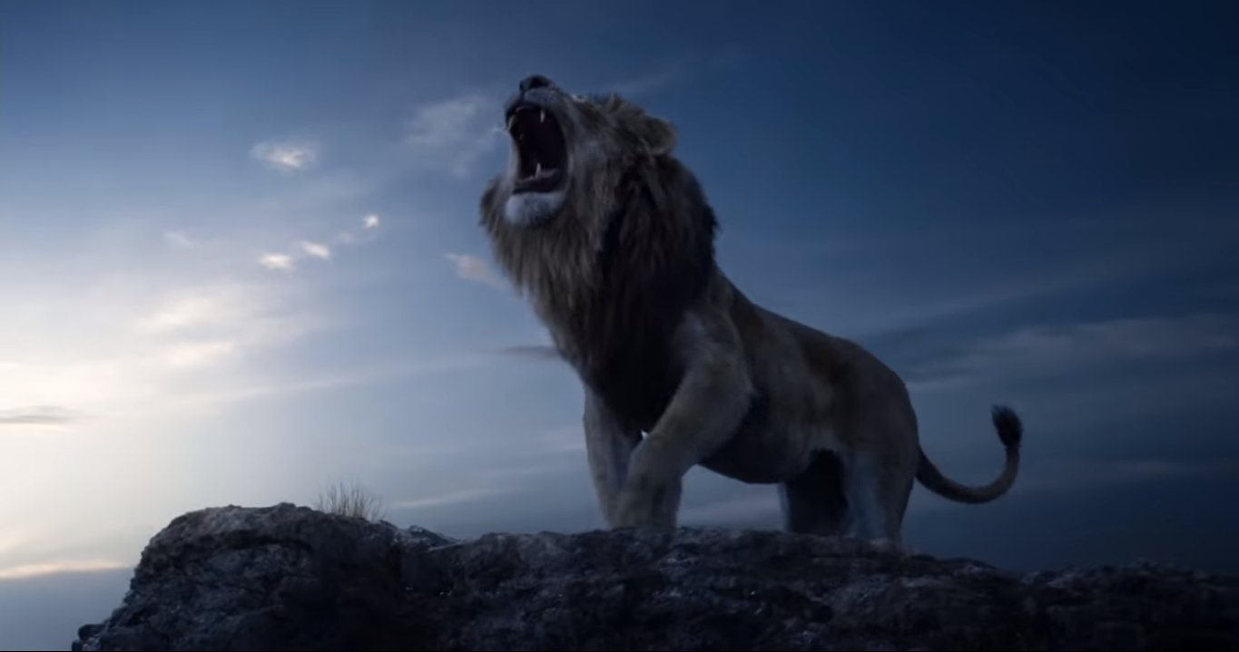 disney u2019s trailer for  u2018the lion king u2019 2019 has transported