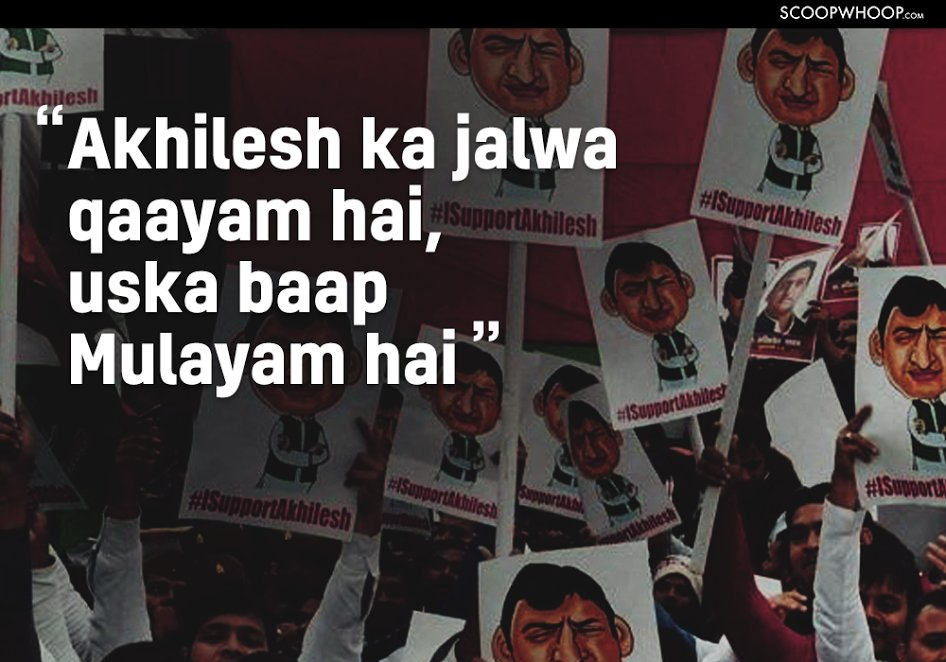 Here Are The Best & Most Creative Slogans Being Heard At Political