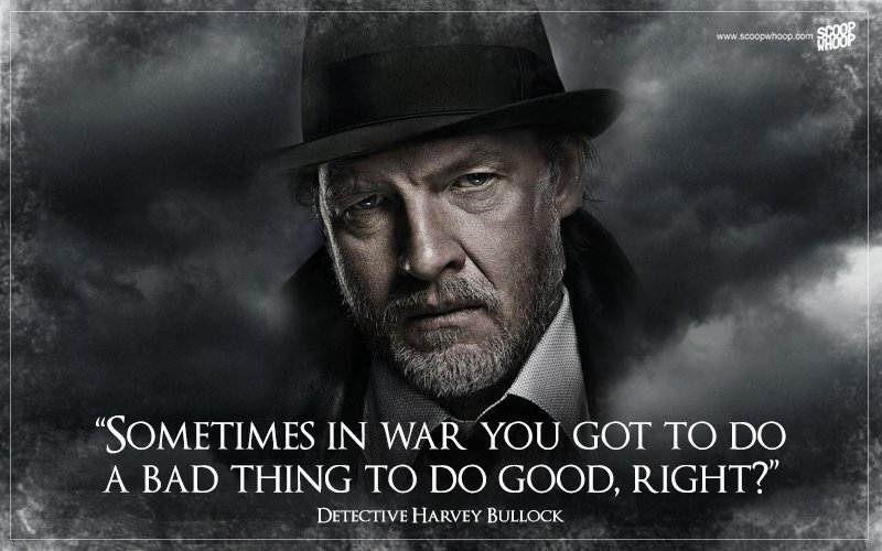 Quotes From Cool 20 Quotes From 'gotham' That Tell Us Why The City Needed The Batman