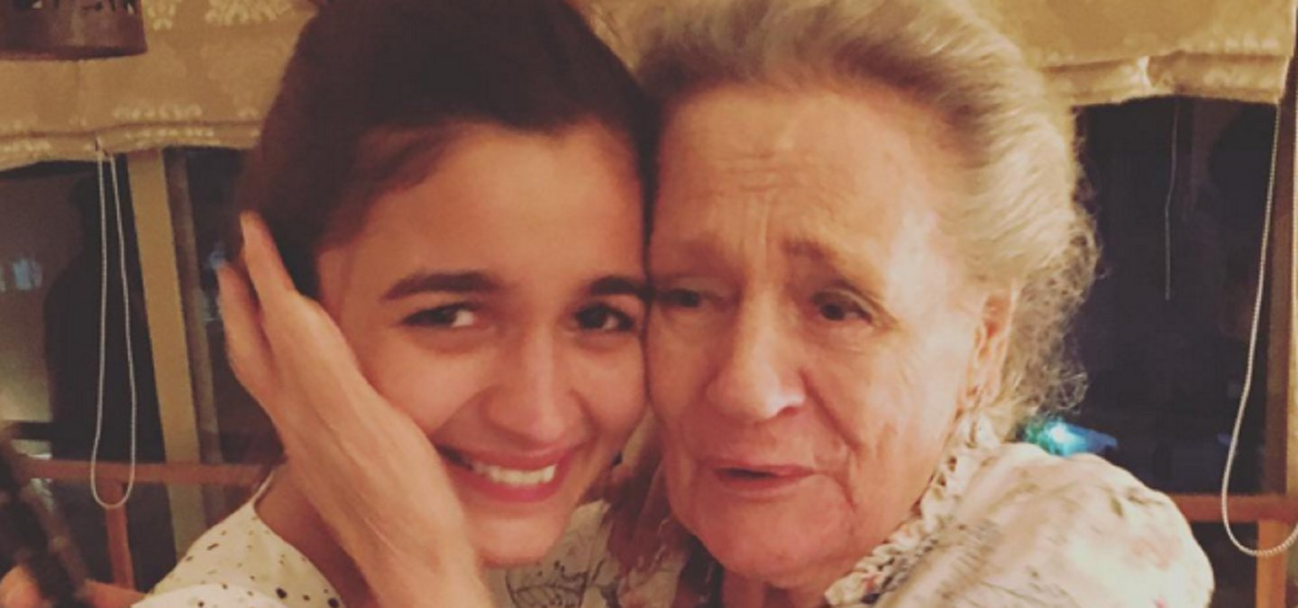 Alia Bhatts Grandparents Gave Her The Sweetest Birthday Gift She Couldnt Hold Back Tears