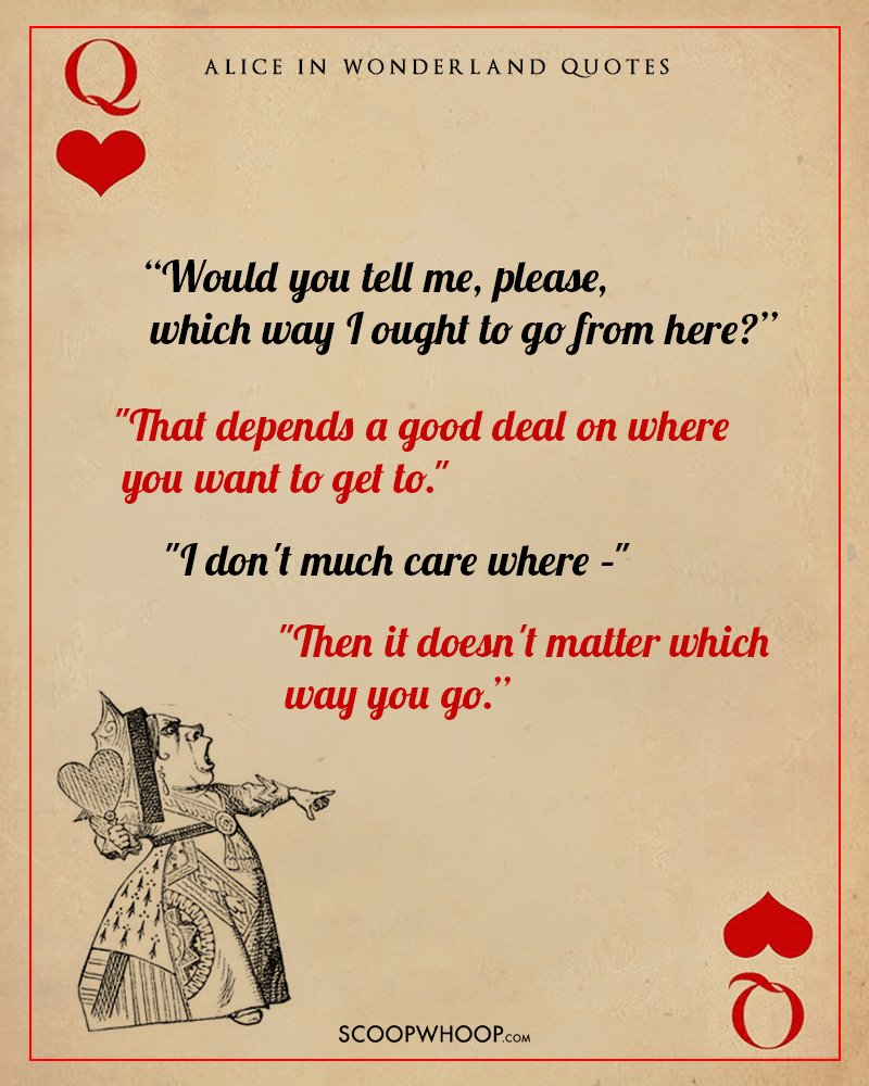 Alice In Wonderland Quotes | 10 Breathtaking Quotes From Alice In Wonderland That Can Double Up