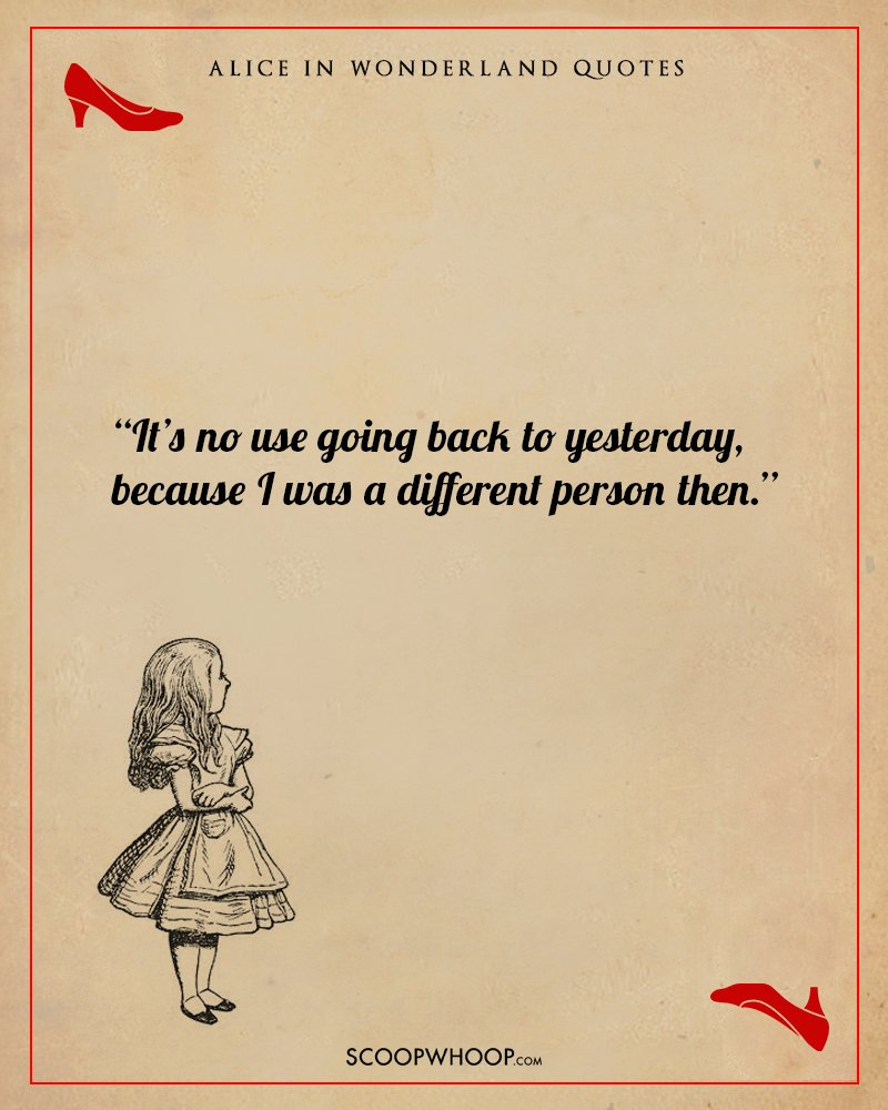 10 Breathtaking Quotes From Alice In Wonderland That Can ...