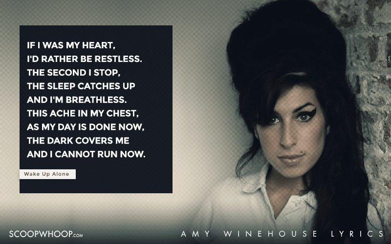 Amy Winehouse - Addicted Lyrics | MetroLyrics