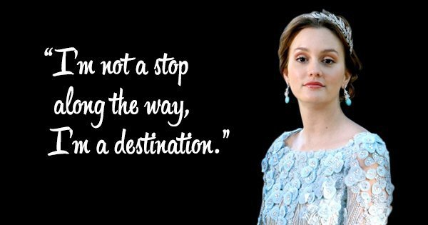 35 witty  sarcastic and deep quotes by blair waldorf that