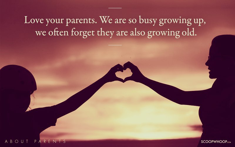 Let These Moving Quotes Reinv Rate The Love And Respect We All Owe Our Parents Our Selfless Makers