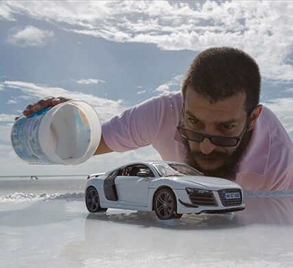 The Photoshoot For The Swanky Audi R8 Worth Rs 93 Lakh Was Done