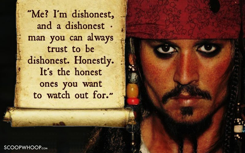 60 Memorable Quotes By Captain Jack Sparrow That Made Us Fall In New Captain Jack Sparrow Quotes