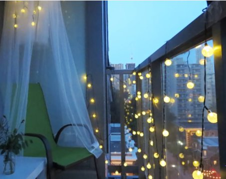 Image result for Use Perfect Lighting in balcony