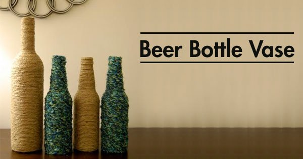 Don't Throw Those Empty Beer Bottles Yet Here Are 40 Cool DIY Awesome How To Use Waste Bottles For Decoration